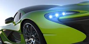 sportwagen grün