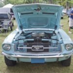 ford mustang 1967 aqua