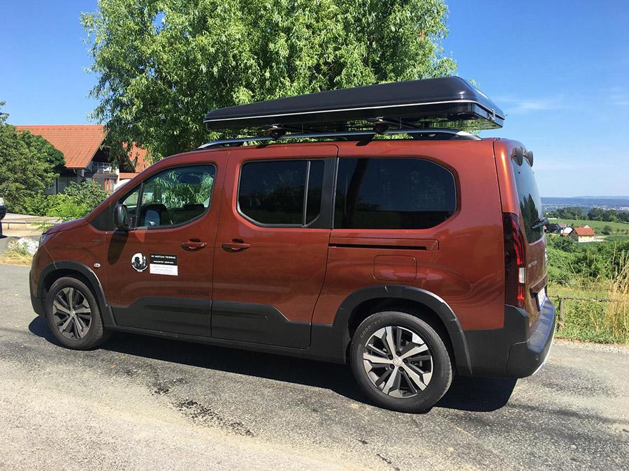 dachzelt-minivan